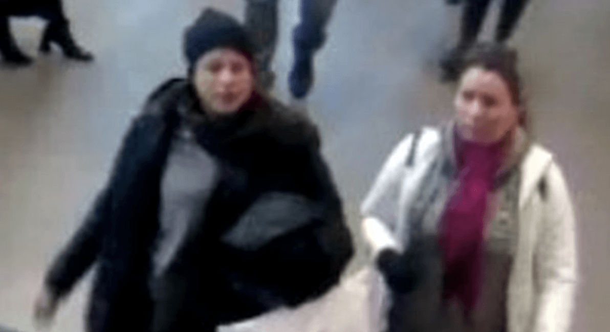 Two women stole credit and debit cards from a Toronto hospital waiting room