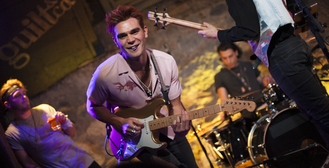 KJ Apa and 'Riverdale' co-star debut new band at secret Vancouver show (PHOTOS)