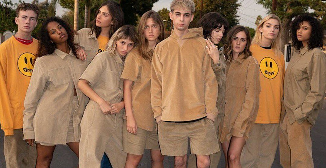 It looks like Justin Bieber just launched a clothing line