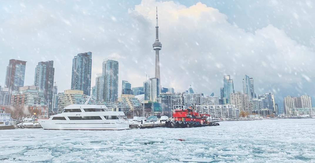 The last cold weather warning of the week is in effect for Toronto today