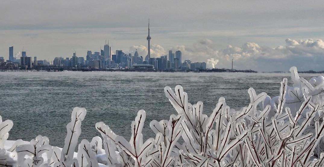 Extreme Cold Warning remains in effect for Toronto today