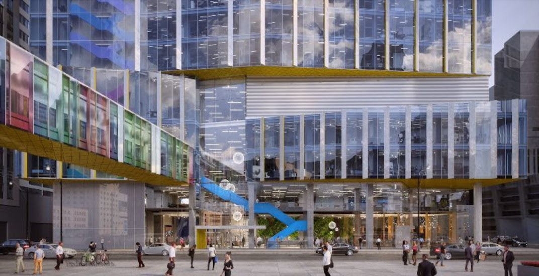 This is what the new 22-storey SickKids' Patient Support Centre will look like