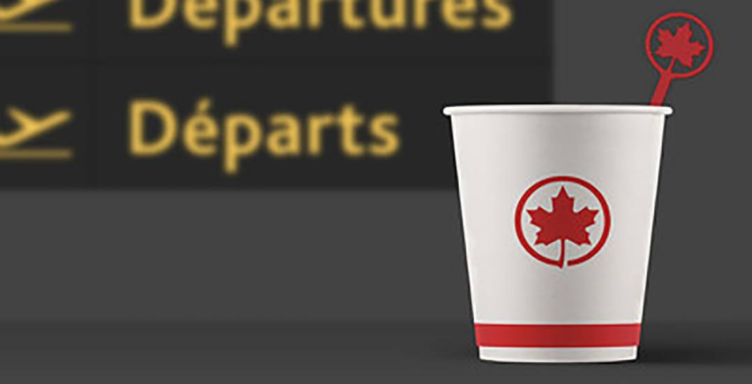 Air Canada eliminating plastic stir sticks by Summer 2019