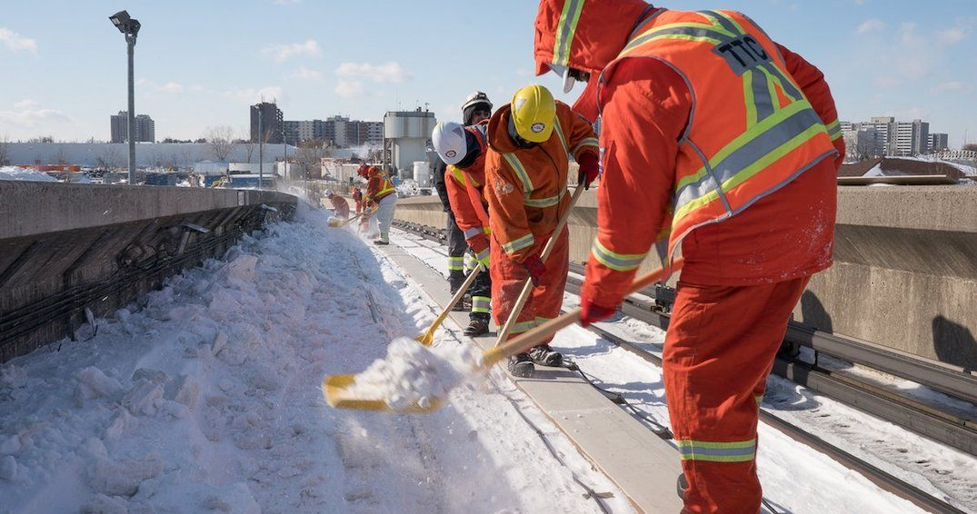 TTC crews continue to work on reopening Line 3 (PHOTOS)