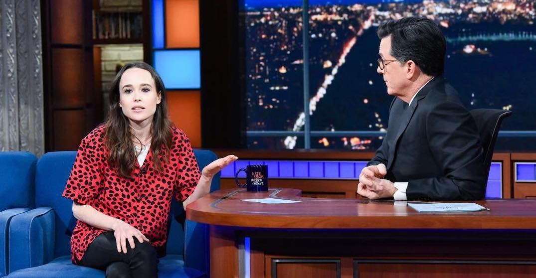 Canadian Ellen Page rips Mike Pence in emotional speech on The Late Show (VIDEO)