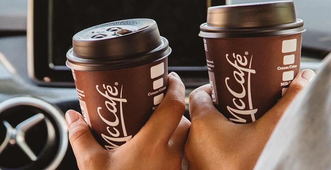 McDonald's is offering $1 coffee across Canada right now