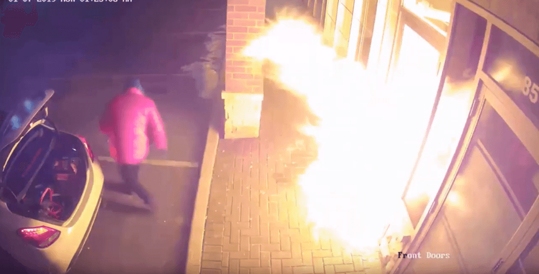 Police looking for suspect who tried to blow up a law office in Vaughan (VIDEO)