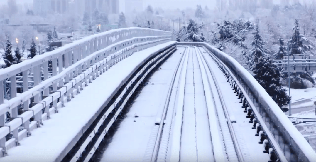 TransLink activates snow plan ahead of forecasted snowfall