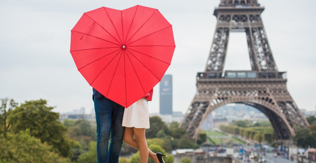 These are the most popular travel destinations for Valentine's Day