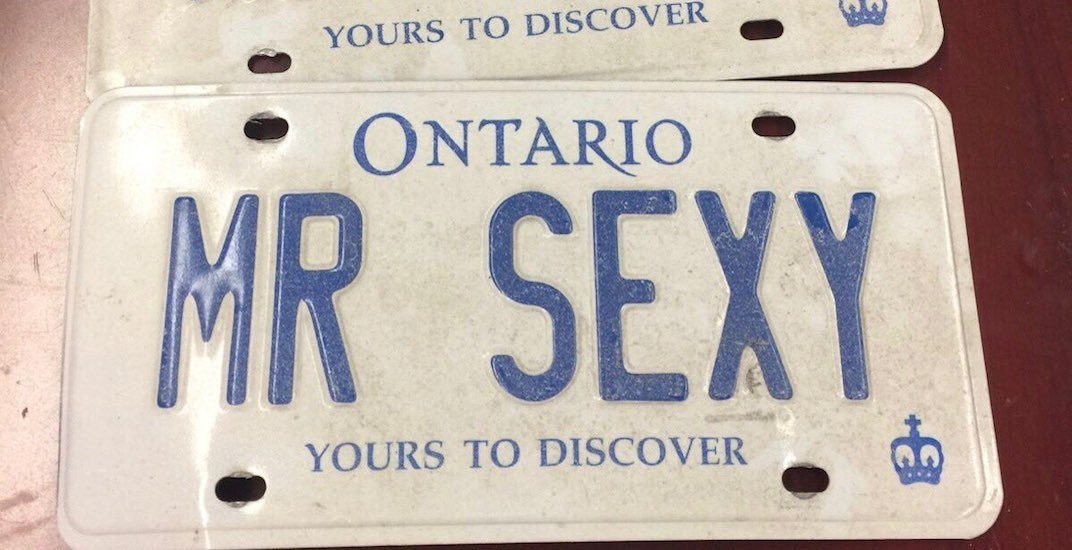 17-year-old pulled over going 150 km/hr with stolen 'Mr Sexy' plates