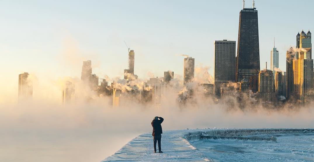 These are the most mind-boggling shots from the polar vortex (VIDEOS)