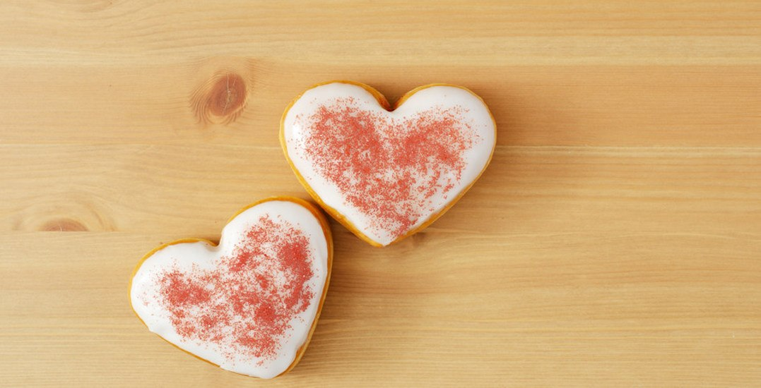 Tim Hortons just released an adorable Valentine's Day menu