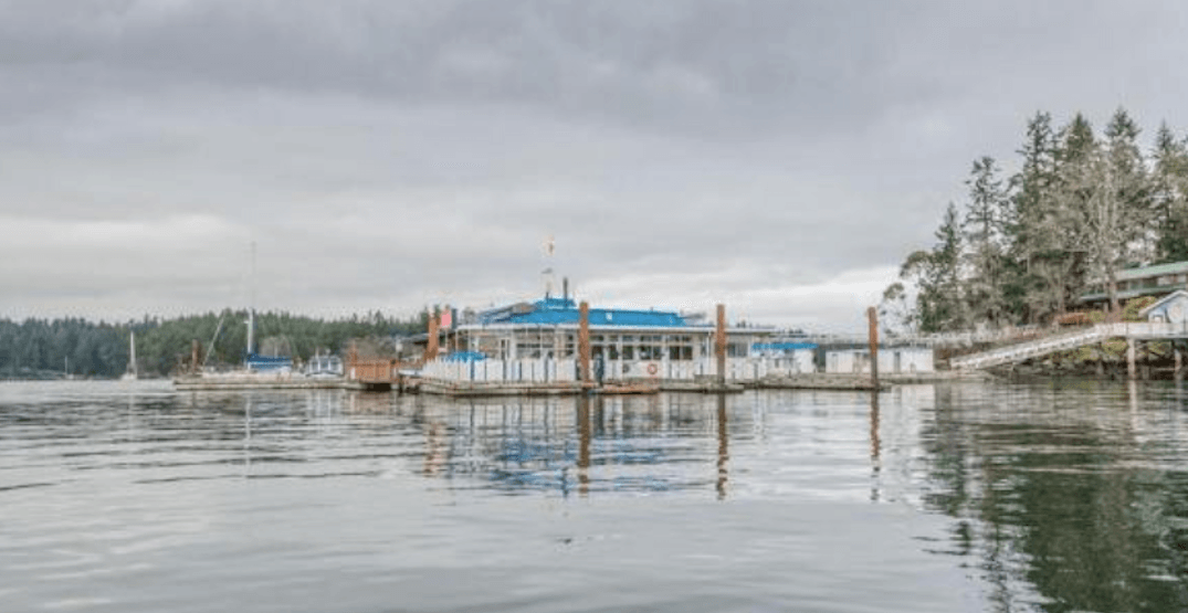 For sale: Canada's only floating pub comes with its own passenger ferry
