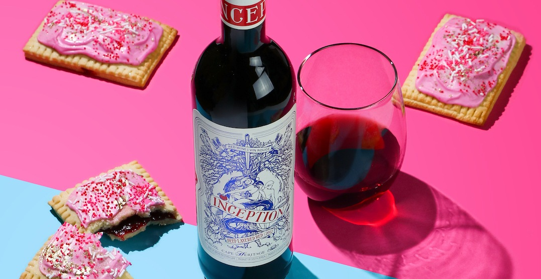 You can get wine-infused homemade Pop-Tarts in Toronto this February