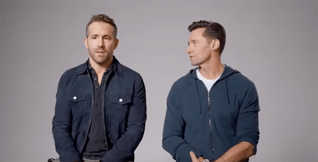 Hugh Jackman isn't quite done his and Ryan Reynolds' internet feud (VIDEO)