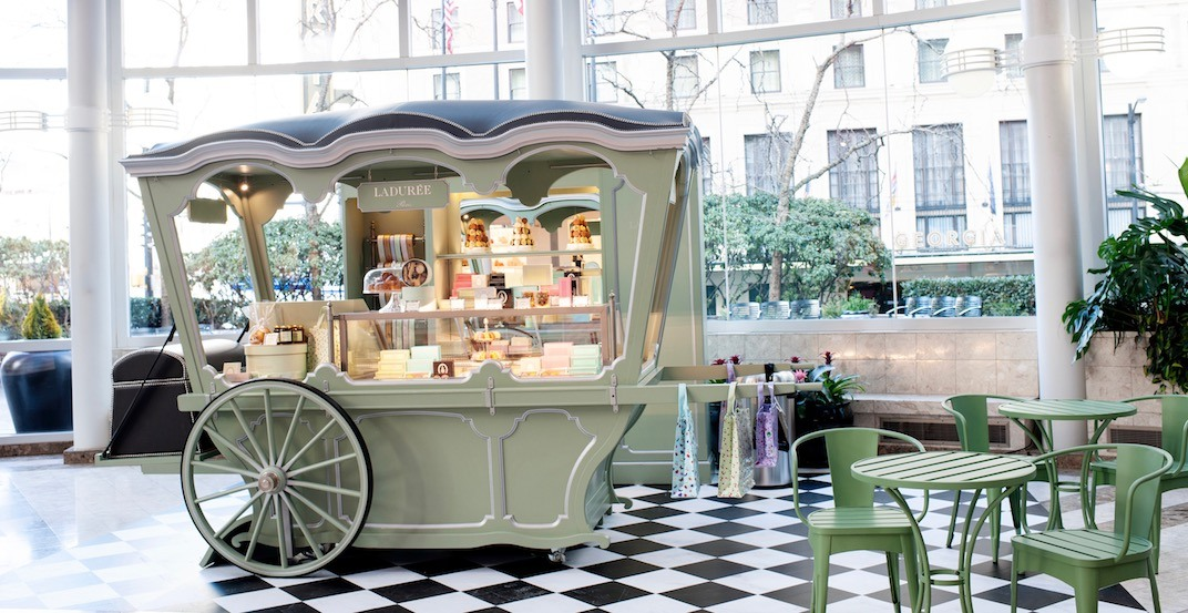 A brand new Ladurée pop-up just opened in downtown Vancouver (PHOTOS)