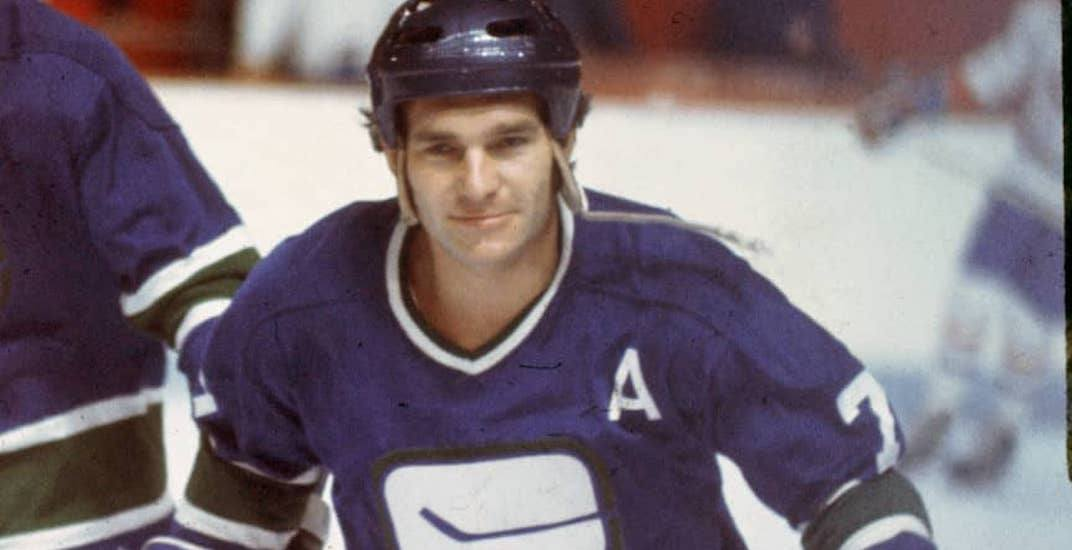 One of the best Vancouver Canucks players from the 1970s has died