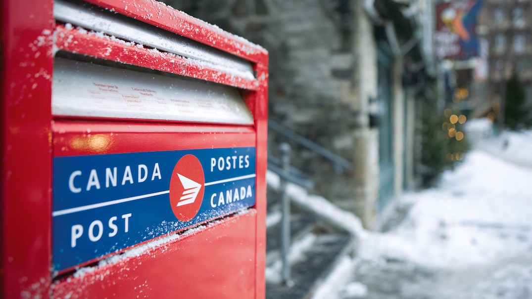 Canada Post delivery is currently suspended across the GTA