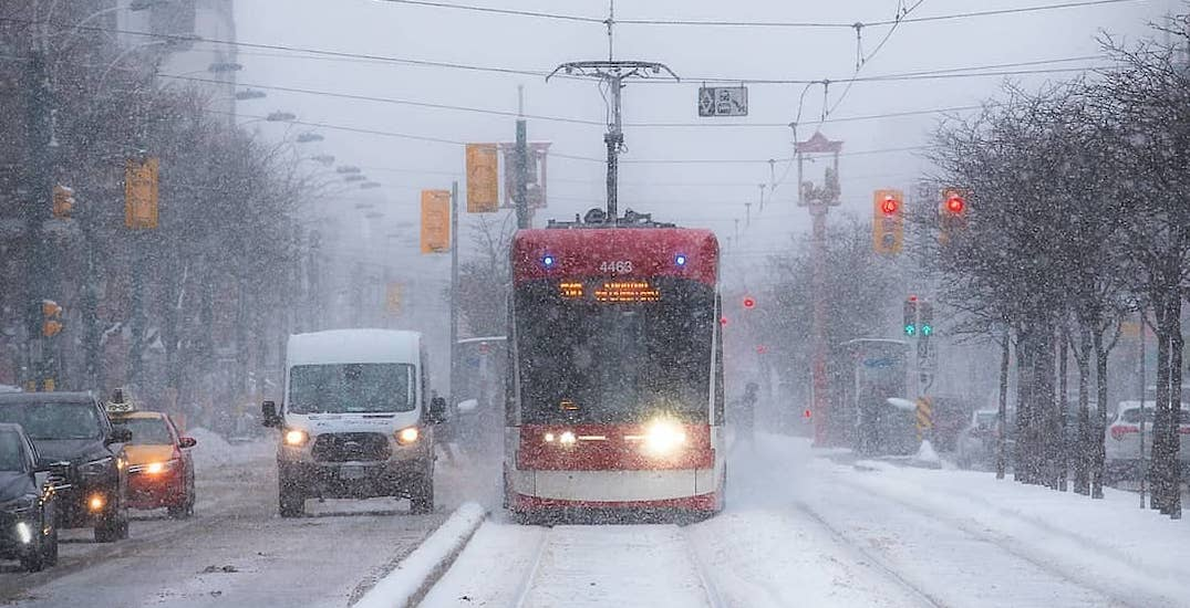 Special Weather Statement in effect in Toronto as up to 10 cm of snow expected