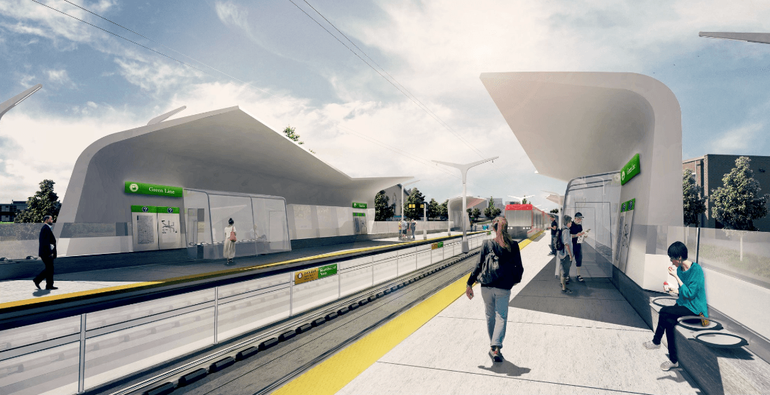 Here's where Calgary's at on the Green Line construction