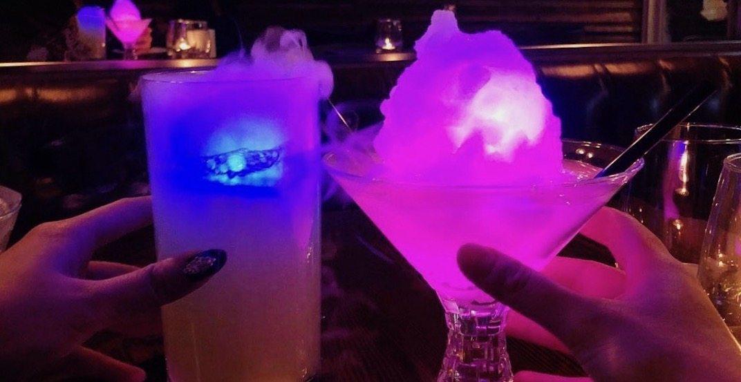 Get wild glow-in-the-dark drinks at Sencha in Vancouver (VIDEO)