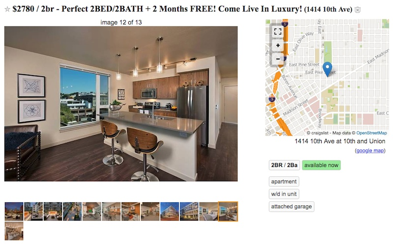 Seattle home listings offering $2,000 gift cards and ...
