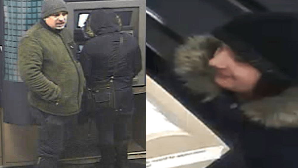 Police seeking man and woman who used distraction techniques to steal debit card