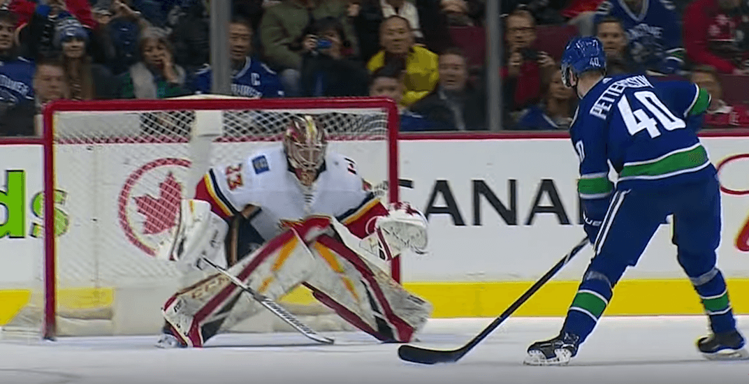 Pettersson lifts Canucks to victory with wicked shot in shootout