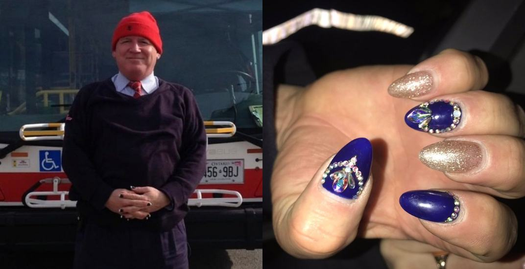TTC bus operator goes viral because of his nail art (PHOTOS)