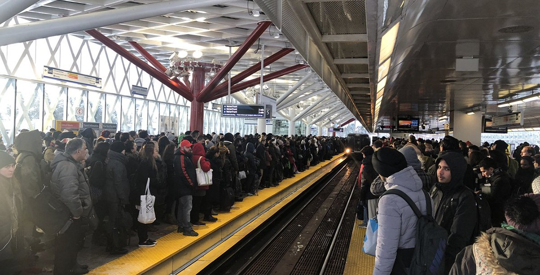 TransLink lineups and wait times are a nightmare this morning