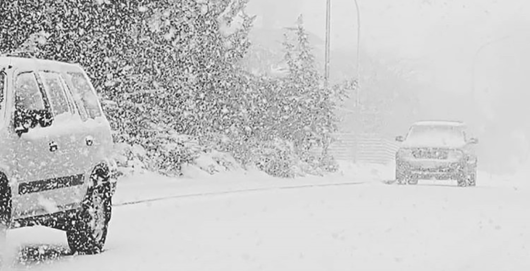 Snowfall and Wind Warning in effect for Metro Vancouver