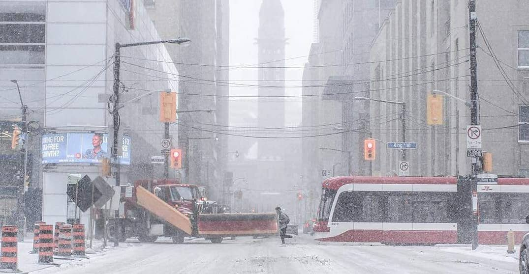 Winter storm warning now calling for up to 25 cm snow and ice pellets in Toronto