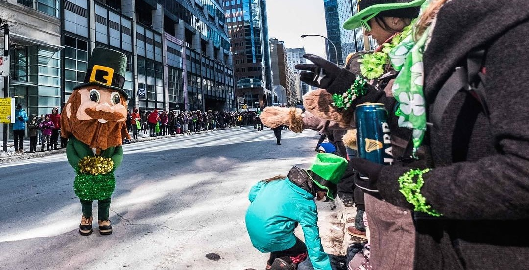 Montreal's St. Patrick's Day Parade moves back to Ste. Catherine Street this year