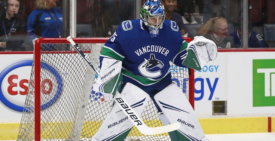 Canucks have egg on their face after running out of goalies