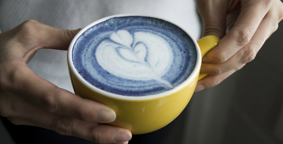 Here's why this blue latte is the ultimate remedy for the February Blues
