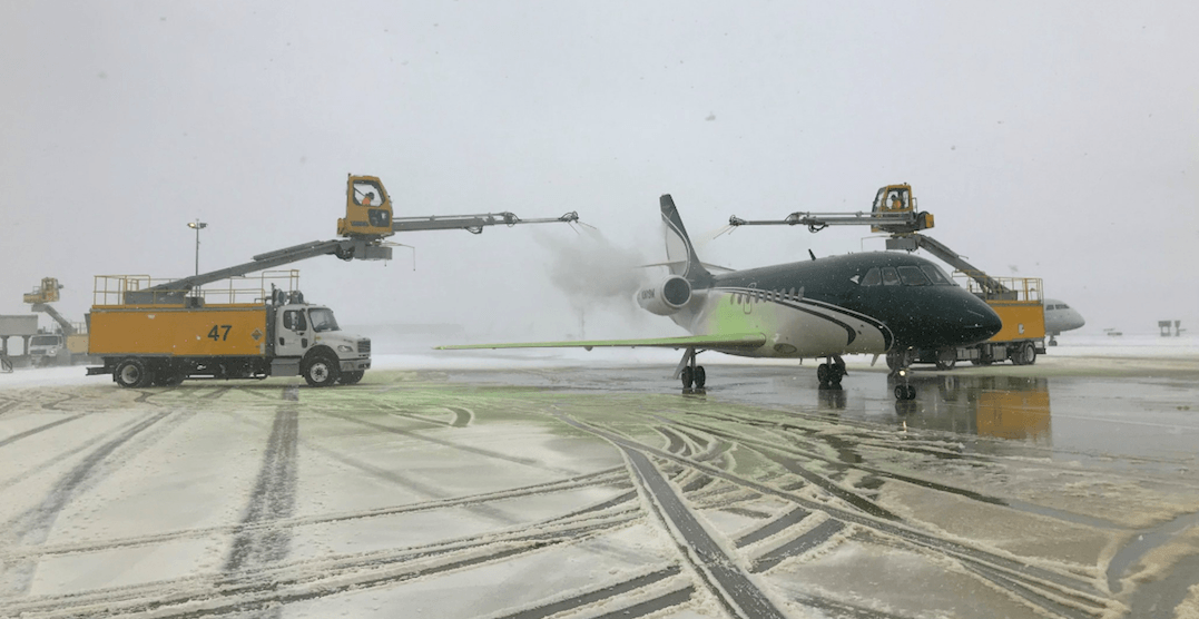Pearson still experiencing delays and cancellations due to weather