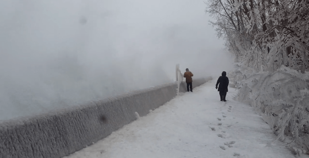 This is what Toronto Island looked like during yesterday's giant storm (VIDEO)