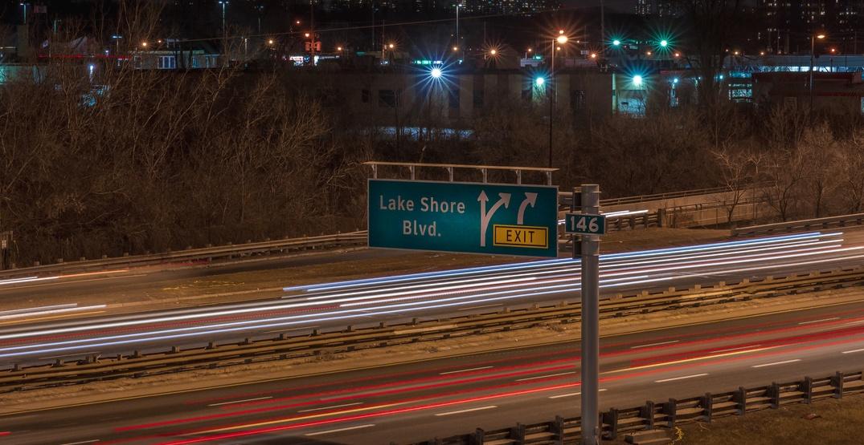 Rolling overnight lane closures on Lake Shore Boulevard begin next week