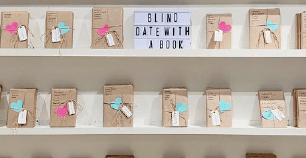 Indigo Robson unveils 'Blind Date with a Book' to celebrate Valentine's Day