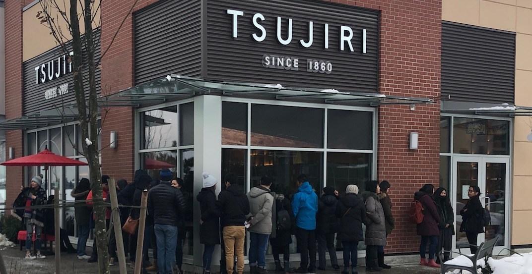New matcha cafe Tsujiri Richmond already has a massive line (PHOTOS)