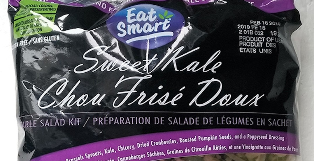Eat Smart brand Sweet Kale salads recalled due to possible Listeria