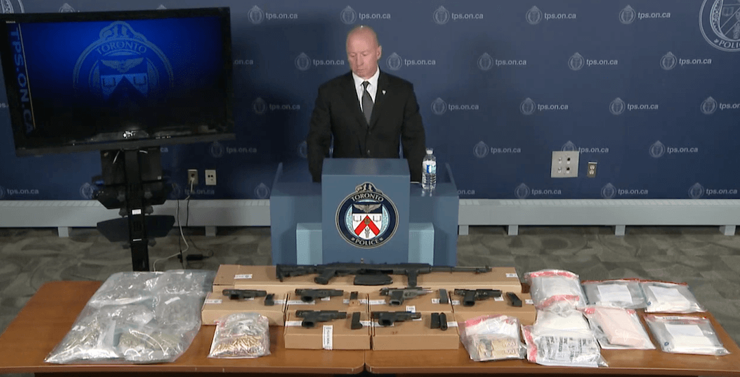 $700K worth of drugs, $60K in cash seized in major Toronto police bust