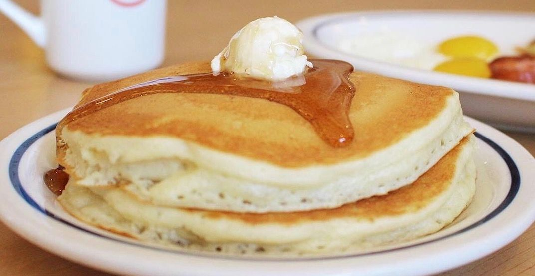 IHOP is giving out FREE pancakes across Canada on March 12