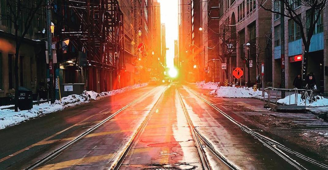 The best shots from this month's beautiful Torontohenge (PHOTOS)
