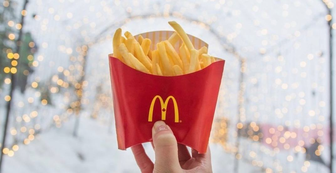 Get buy-one-get-one FREE McDonald's fries in Calgary February 20 to 25