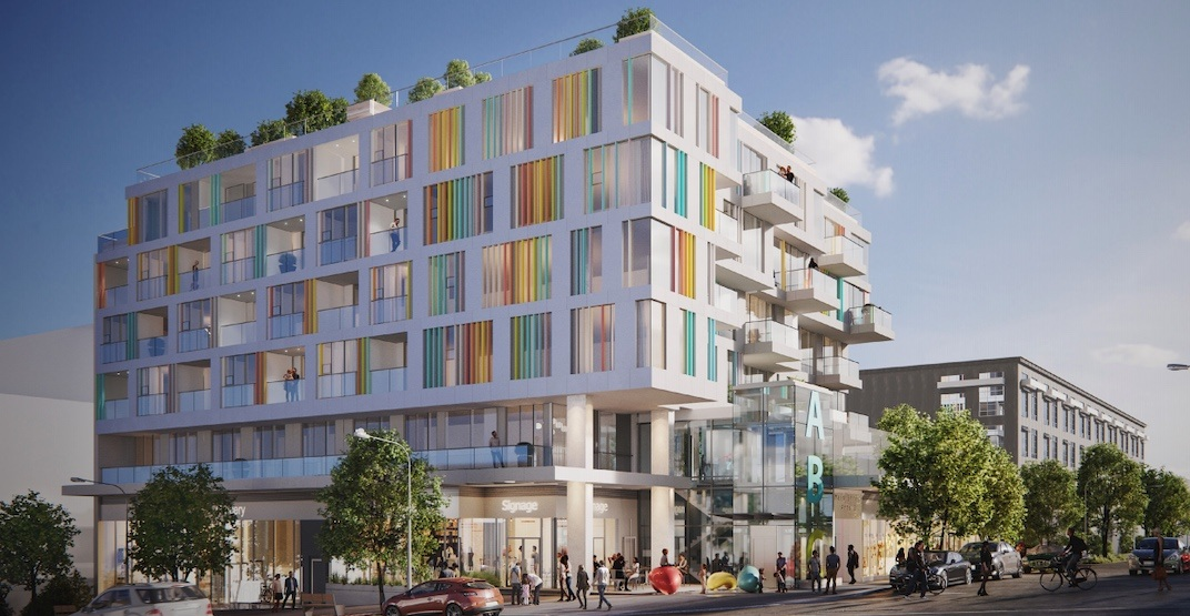Colourful condo building proposed for Main Street in Mount Pleasant