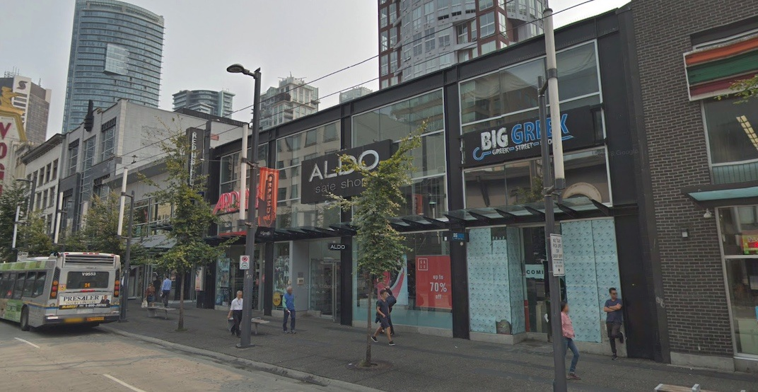 New 4-storey retail and office building proposed for Granville Entertainment District