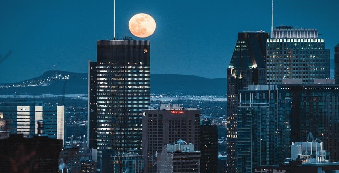 This is what the biggest supermoon of the year looked like over Montreal (PHOTOS)