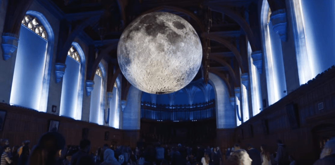 Canadian premiere of massive moon sculpture coming to Toronto this March (VIDEO)