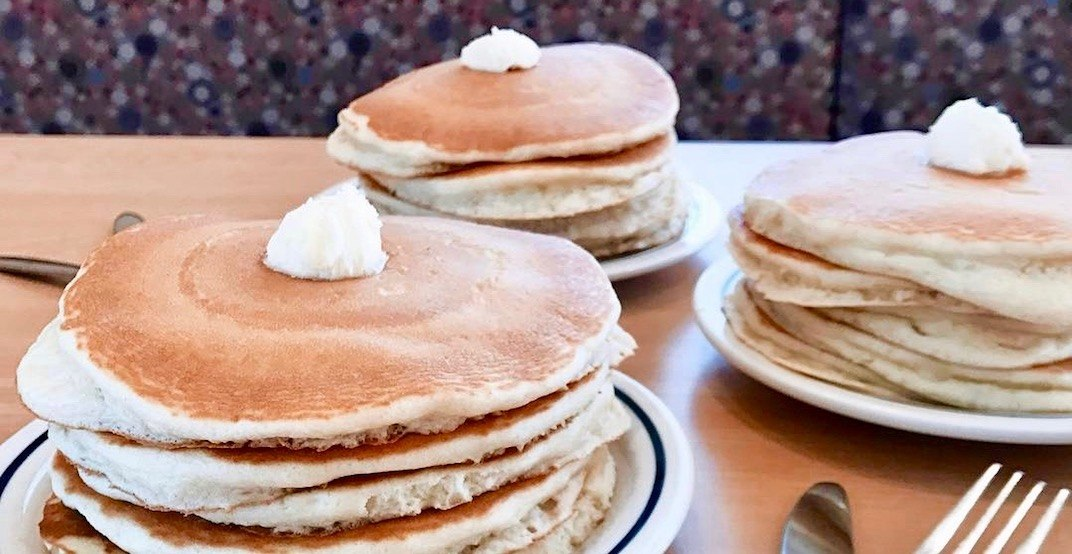 You can get all-you-can-eat pancakes at IHOP right now